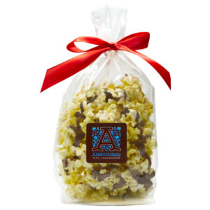 Holiday Chocolate Covered Popcorn